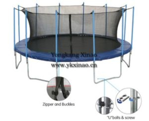 5m Outdoor Bungee Jumping Trampoline with Enclosure