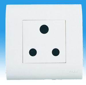 China One Gang India Lighting Plug Electrical Outlet Socket - China ...