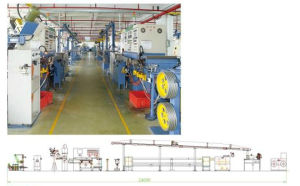 Extruder Extrusion Insulation Line for PVC, Lshf, Electrical Wire House Wire, Power Cable, Control Cable