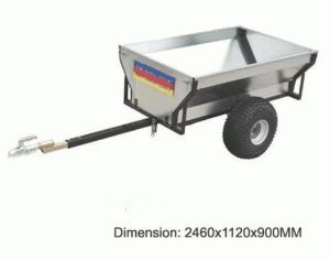 Box Trailer, 750kg ATV Timber Trailer Model: WD-T01