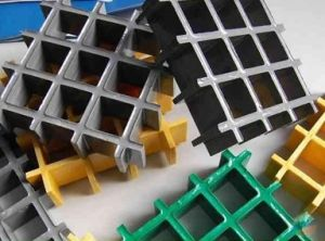 Fiberglass Molded Grating, FRP/GRP Pultruded Grating pictures & photos