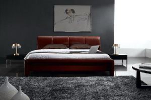 Leather Bed - F8319