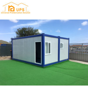 20 Feet Luxury Prefabricated Fabrication Container House with Toilet and Kitchen pictures & photos