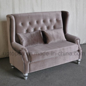 Elegant Sofa Booth with Upgrade Velvet for Banquet (SP-KS301) pictures & photos
