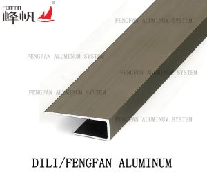 Alumaiam Tile Trim Baseboard or Skirting pictures & photos