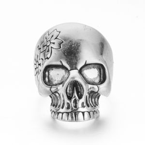 VAGULA Vintage Silver Ring Punk Skull Ring pictures & photos