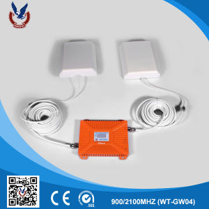 900/2100MHz Dual Band 2G 3G Mobile Phone Signal Booster pictures & photos