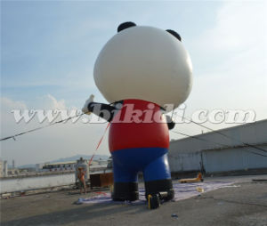 Giant Advertising Inflatable Panda Cartoon Balloon for Outdoor Use K2091 pictures & photos