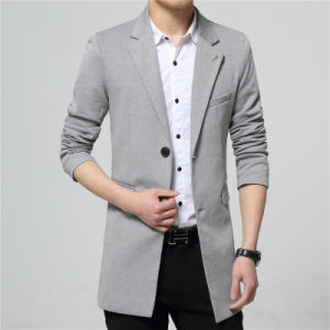 c4c20bce71 China 2016 Latest Design Bespoke Men Autumn Long Coat Suit - China ...