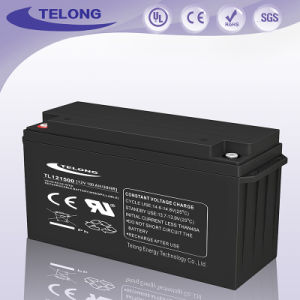 12V150ah Maintenance Free Deep Cycle Rechargeable AGM Solar UPS Power Battery pictures & photos