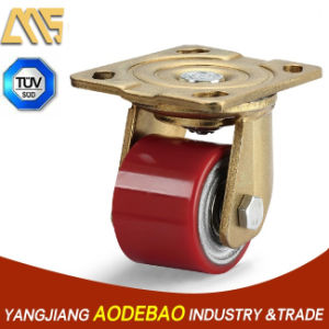 Extra Heavy Duty Low Gravity Swiel PU Caster Wheel
