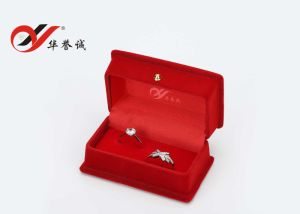 Fashionable Red Velvet Jewelry Box Set pictures & photos