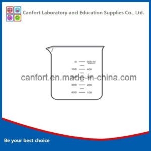 Laboratory Glassware Low Form High Borosilicate Glass Beaker with Lip and Graduation pictures & photos