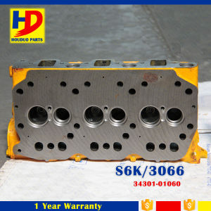 Engine Cylinder Head S6kt (34301-01060) for Caterpillar Excavator Parts pictures & photos