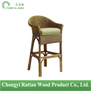 Natural Rattan Wicker Bar Chair Barstool