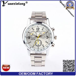 Yxl-330 Promotion Mechanical Watch Stainless Steel Chronograph Hand Watches Luxury Business Quartz Watch Custom Mens Watches pictures & photos