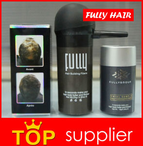 China Hair Cosmetic Manufacturer Fully Keratin Hair Building Fibers