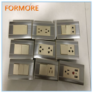 South America Wall Switch/118 Type Wall Switch pictures & photos