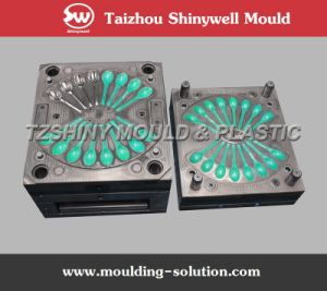Plastic Disposable Soup Spoon Injection Mould
