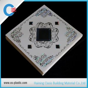 595*595*7mm PVC Ceiling Tiles for Iraq pictures & photos