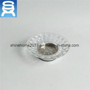 Brass Plating Bathroom Accessories Luxury Ceramic Soap Dish/Soap Holder pictures & photos