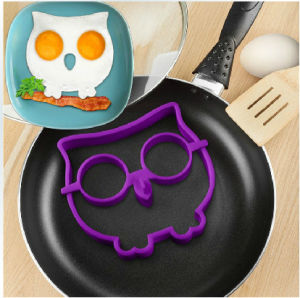 Silicone Owl Egg Ring / Pancake Mold /Silicone Fried Egg Molds
