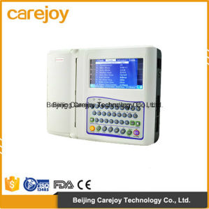 Factory Price Digital 12-Channel Color Electrocardiograph ECG (EKG-1212F) -Fanny pictures & photos