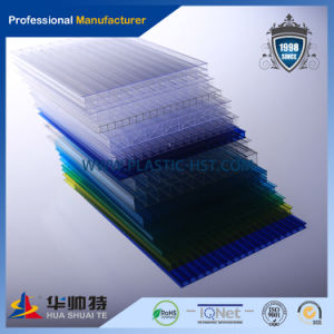 2016 Building Material Colorful PC Twin Wall Sheet pictures & photos