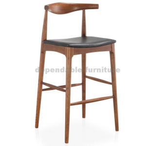 Pleasant Wooden Kitchen High Bar Chair Hans Wegner Elbow Bar Stool Spiritservingveterans Wood Chair Design Ideas Spiritservingveteransorg