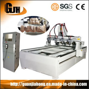 2D&3D Engraving, Stepper, 4′x8′, Multi Spindles & Function Woodworking CNC Router pictures & photos