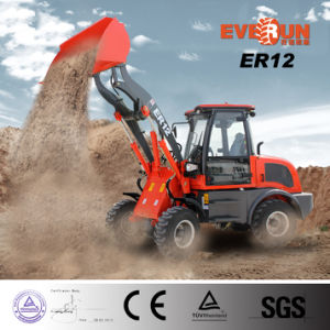 High Quality Er12 Mini Wheel Loader with EPA Engine/Quick Hitch for Sale pictures & photos