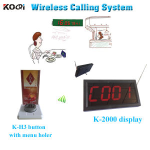 Wireless Calling System Koqi Cheapest Restaurant Equipment Popular in All Over The World pictures & photos
