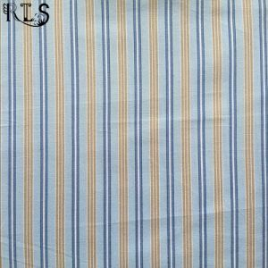 100% Cotton Poplin Yarn Dyed Fabric Rlsc50-6