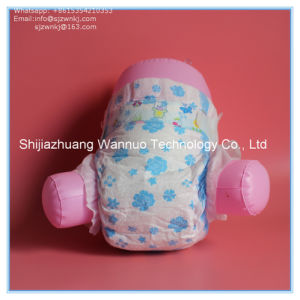 Magic Tape Cloth Like Film Baby Nursing Disposable Diaper