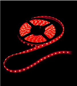 60SMD3528 4.8W/M Red LED Strip