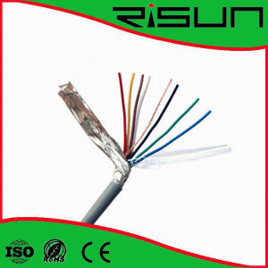 Shielded 4/6/ Cores Security Alarm Cable with Ce/RoHS/ISO9001 pictures & photos