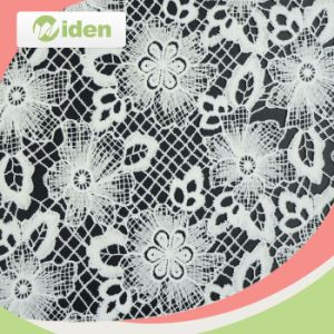 Wholesale Beautiful Flower Print African Water Soluble Fabric pictures & photos