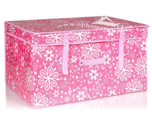 Elegant Decorative Non Woven Storage Bin with Printing
