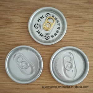 57mm 206 Eoe Easy Open End Aluminum Lids pictures & photos
