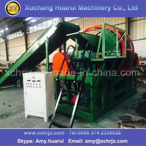 Automatic Waster Tyre Recycling Line/Rubber Recycling Chain/Tire Shredding Machine pictures & photos