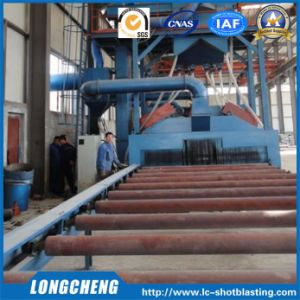 Roller Conveying Cleaning Machine by Steel Shot Blasting