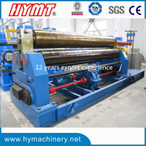W11-16X2500 Mechanical Type 3 Rollers Steel Plate Bending Machine pictures & photos