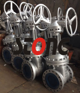 API ANSI 300lb RF/ Bw Carbon Steel Gate Valve pictures & photos