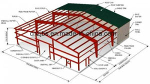 Light Frame Pre-Engineered Steel Structure pictures & photos