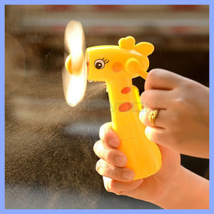 Factory Price Cute Carton Children Mini Handheld Water Mist Fan Support Print Logo pictures & photos