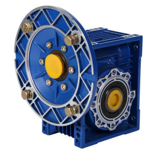 Worm Gear Speed Gearbox Nmrv Gear Box with Motor pictures & photos