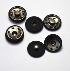 24mm Colorful Fastener Fabric Button for Garment pictures & photos