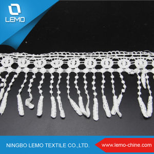 Wholesale Water Soluble 100% Cotton Embroidery Lace pictures & photos