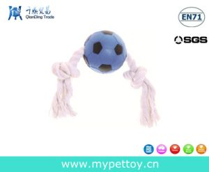Pets Knotted Soccer Dog Toy pictures & photos