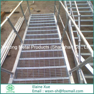 Hot DIP Galvanized Steel Stair With ISO9001 Standard
